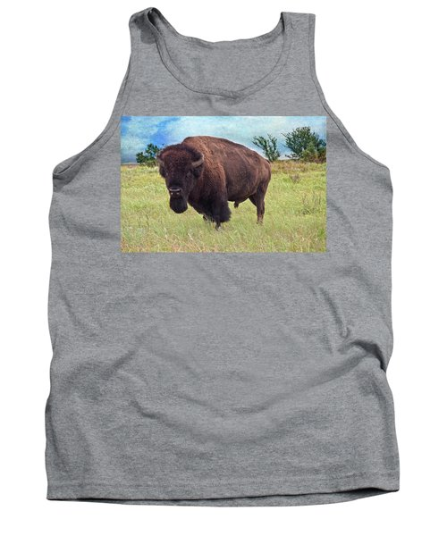 American Bison Tank Top