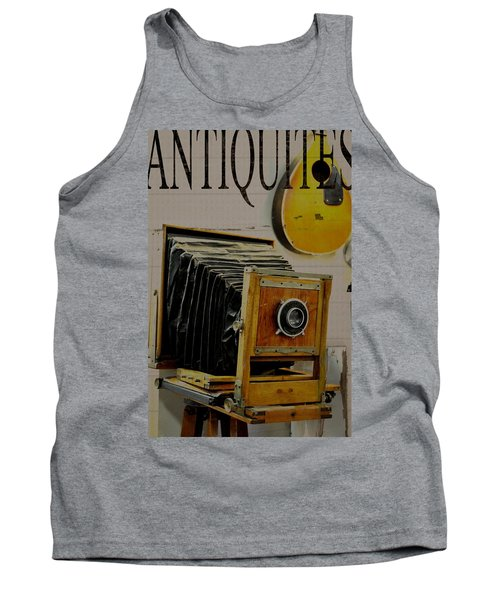 Antiquites Tank Top by Jan Amiss Photography