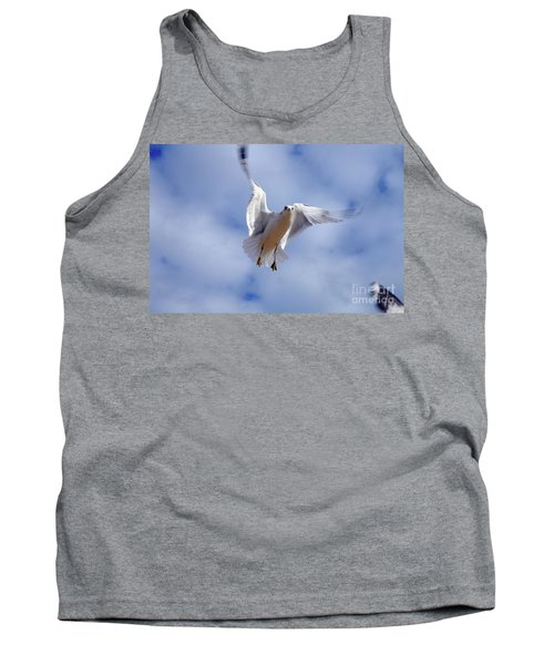 Tank Top featuring the photograph Applying Brakes In Flight by Clayton Bruster