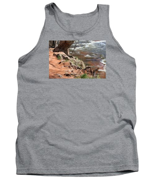 Tank Top featuring the photograph Arizona Red Water by Debbie Hart