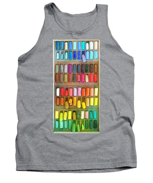 Artists Rainbow Tank Top