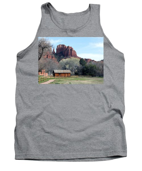 At The Base Tank Top by Debbie Hart