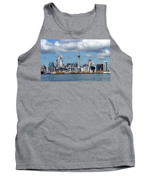 Auckland Skyline Tank Top