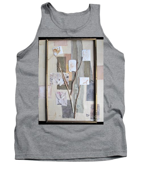 Tank Top featuring the mixed media Autumn by Sandy McIntire