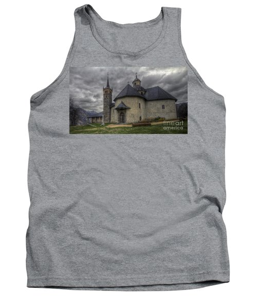 Baroque Church In Savoire France 6 Tank Top by Clare Bambers