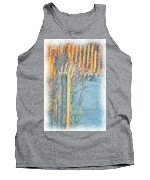 Tank Top featuring the photograph Beach Fence by Lynne Jenkins