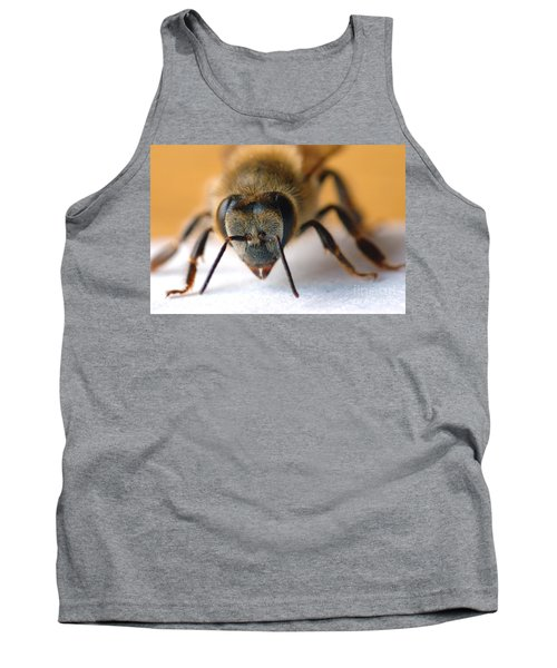 Bee In Macro 4 Tank Top by Micah May
