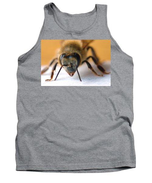 Bee In Macro 4 Tank Top
