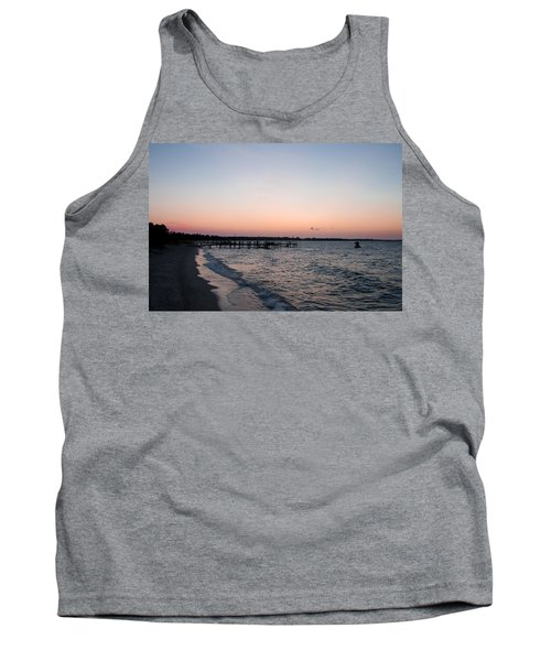 Before Sunrise At Piney Point Maryland Tank Top