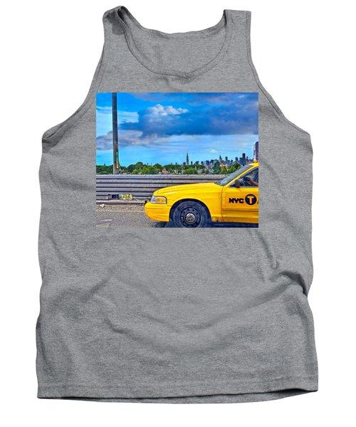 Big Yellow Taxi Tank Top