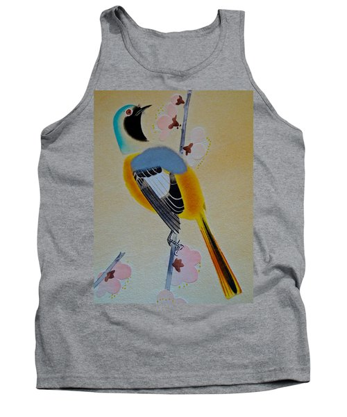 Bird Print Tank Top