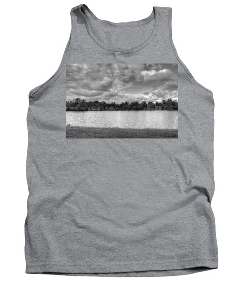 Tank Top featuring the photograph Black And White Autumn Day by Michael Frank Jr