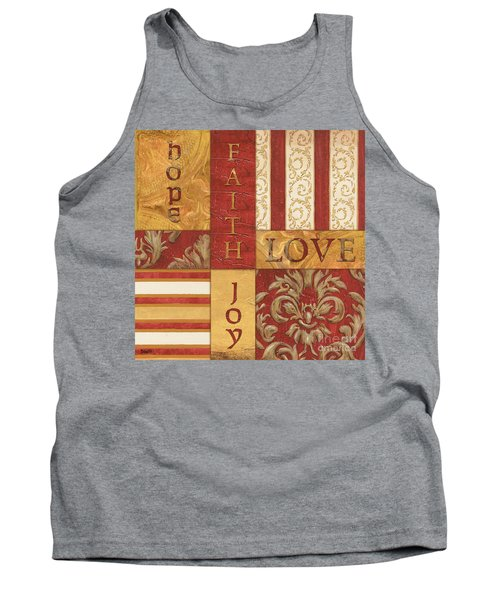 Bohemian Red Spice 1 Tank Top