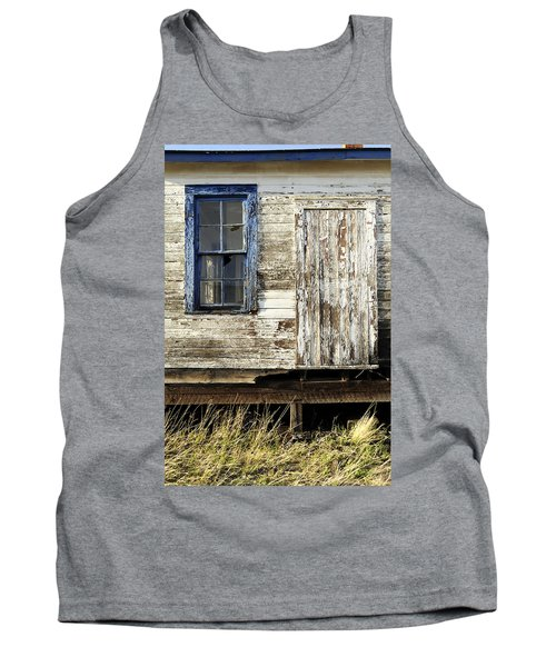Tank Top featuring the photograph Broken Window by Fran Riley