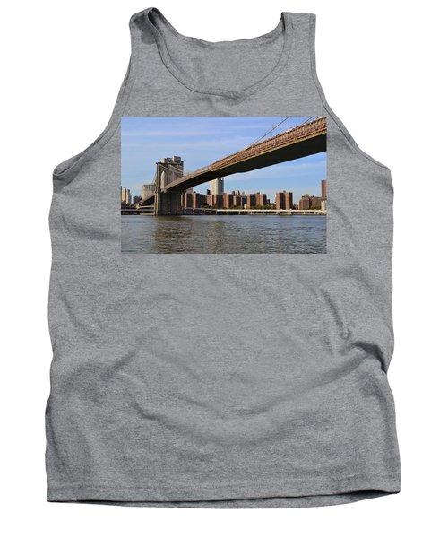 Brooklyn Bridge1 Tank Top by Zawhaus Photography