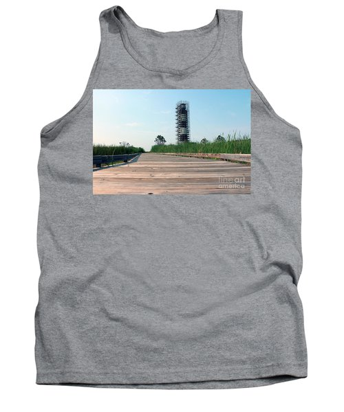 Tank Top featuring the photograph Caged Beauty 1 by Tony Cooper