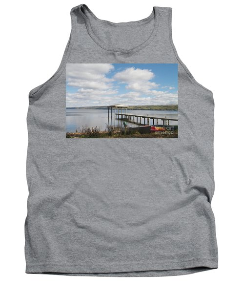 Tank Top featuring the photograph Calm Waters by William Norton