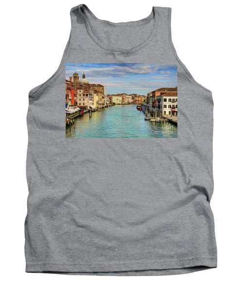 Canals Of Venice  Tank Top