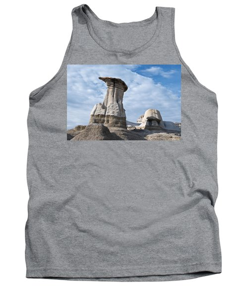 Capped Hoodoo And Clouds Tank Top