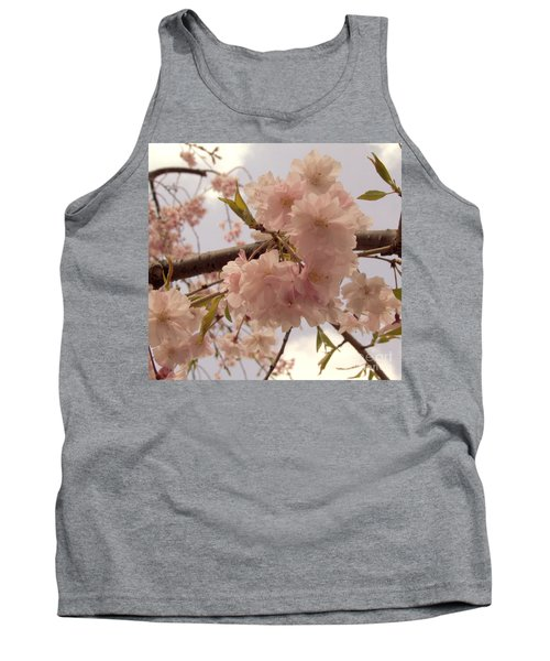 Tank Top featuring the photograph Cherry Blossom 2 by Andrea Anderegg