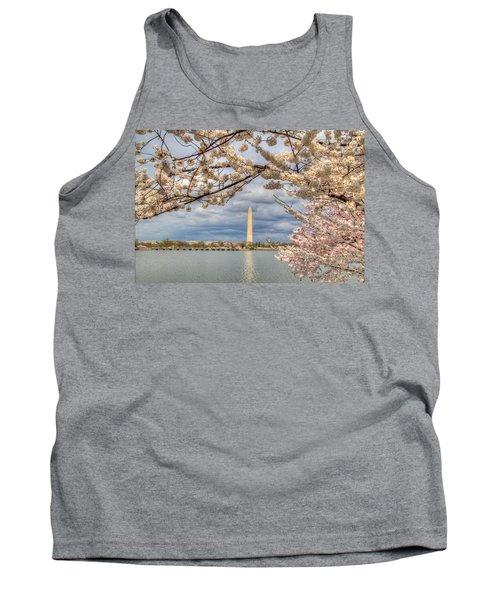 Cherry Blossoms Washington Dc 4 Tank Top