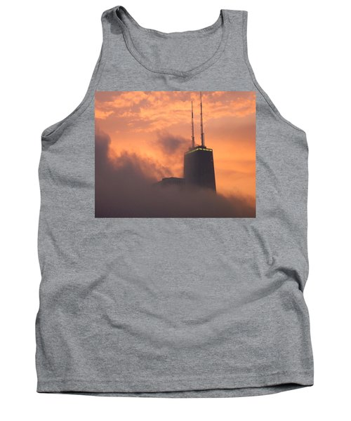 Chicago Dusk Tank Top by Valentino Visentini