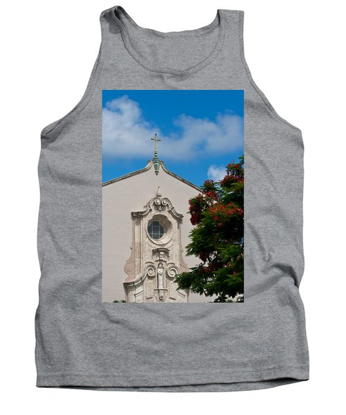 Tank Top featuring the photograph Church Of The Little Flower by Ed Gleichman