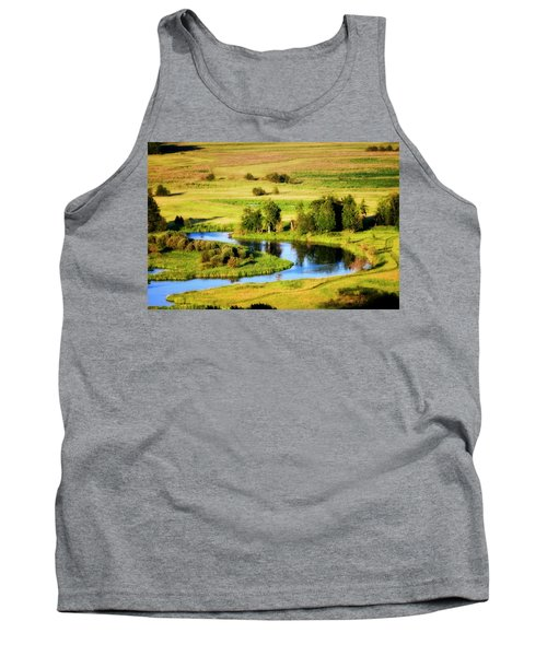 Tank Top featuring the photograph Clark Fork Delta  by Albert Seger
