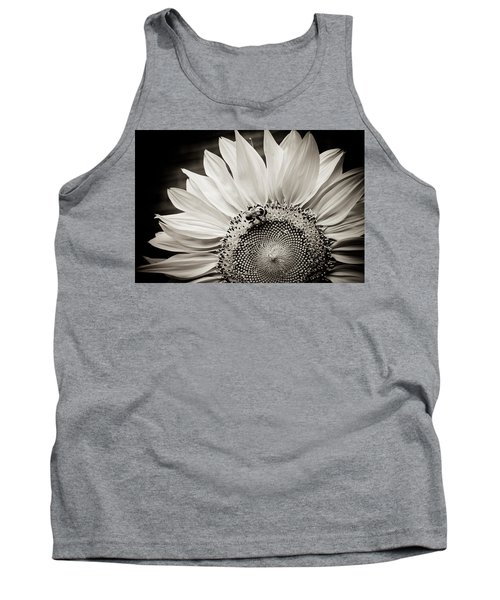 Tank Top featuring the photograph Classic Sunflower by Sara Frank