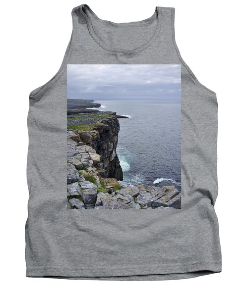 Tank Top featuring the photograph Cliffs Of Inishmore by Hugh Smith