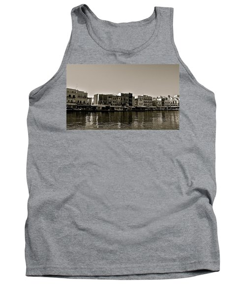 Tank Top featuring the photograph Crete Reflected by Eric Tressler