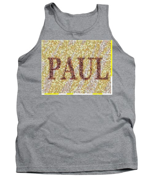 Custom Paul Mosaic Taylor Swift Tank Top