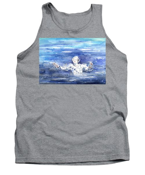 David Bowie In Ashes To Ashes Tank Top by Miki De Goodaboom