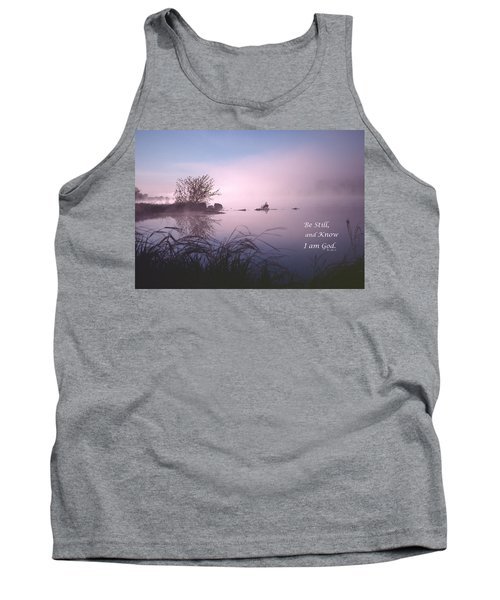 Dawn On The Chippewa River Tank Top