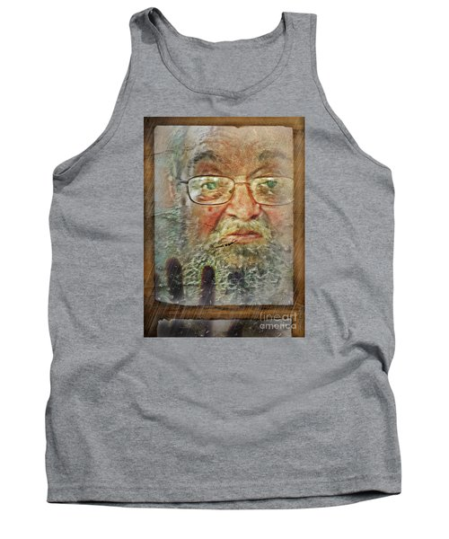 Don't You See Me?  I'm Here. .  Tank Top by Rhonda Strickland