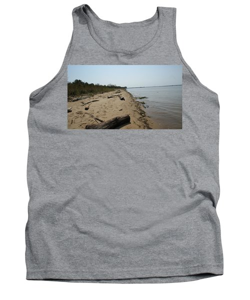 Driftwood Tank Top by Charles Kraus