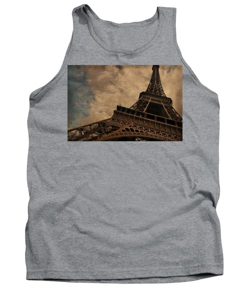Eiffel Tower 2 Tank Top by Mary Machare
