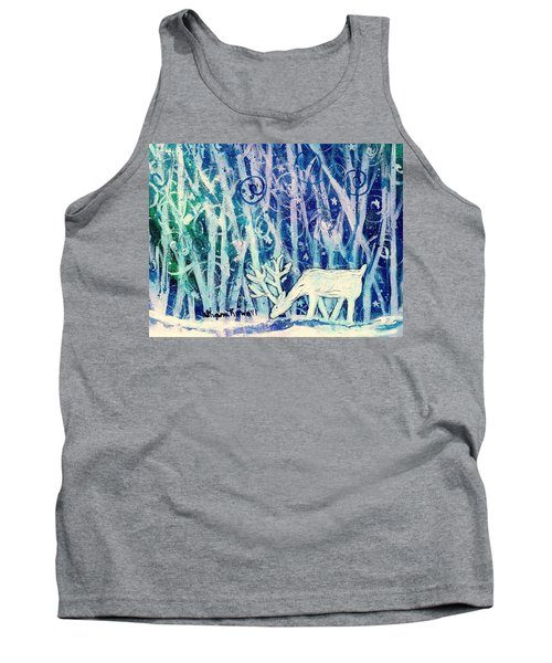 Enchanted Winter Forest Tank Top