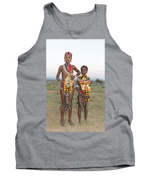 Ethiopia-south Sisters Tank Top