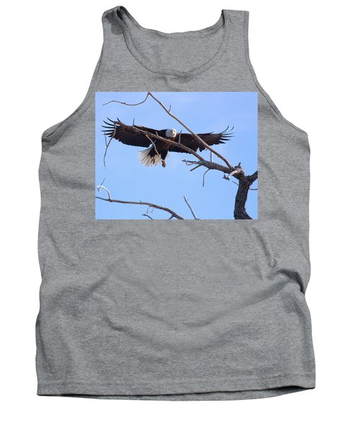 Tank Top featuring the photograph Eyes On The Prize by Jim Garrison