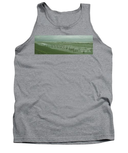 Tank Top featuring the photograph Facing The Wind by Donna Brown