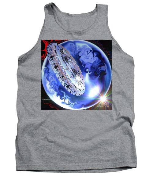 Final Approach Tank Top by Greg Moores