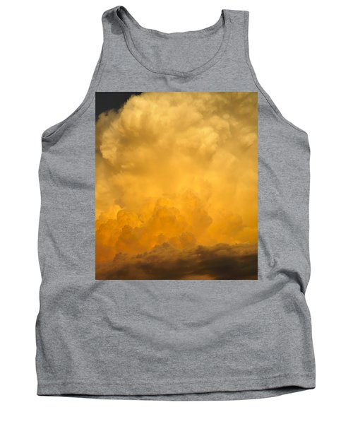 Fire In The Sky Fsp Tank Top by Jim Brage