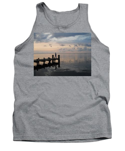 Tank Top featuring the photograph First Light by Clara Sue Beym