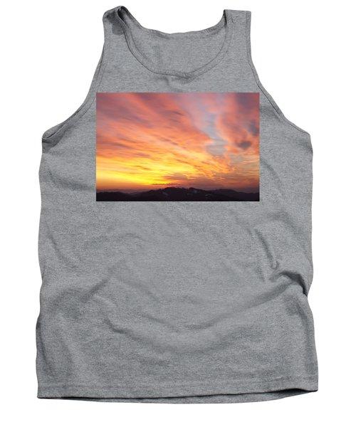 Flaming Sunset Tank Top