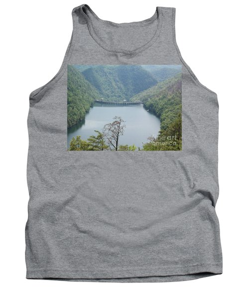 Tank Top featuring the photograph Fontana Dam by Janice Spivey