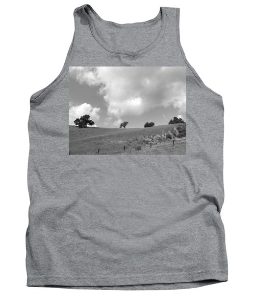 Tank Top featuring the photograph Four On The Hill by Kathleen Grace