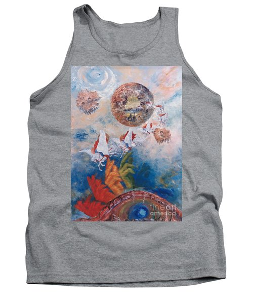 Freedom - The Beginning Of All Being Tank Top