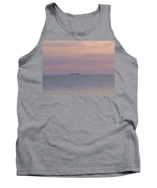 Tank Top featuring the photograph Freighter by Bonfire Photography