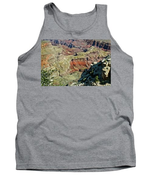 Tank Top featuring the painting From Yaki Point 6 Grand Canyon by Bob and Nadine Johnston